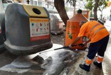 Quart de Poblet reforça les tasques de neteja i desinfecció en el municipi