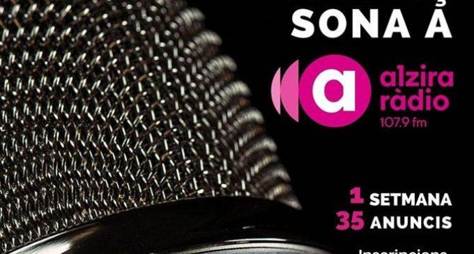 Alzira Ràdio comença la campanya d'anuncis gratuïts per als comerços i hostaleria