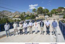El pont de Montepino de Gandia estarà reconstruït a l'octubre després d'una inversió de més 300.000 euros