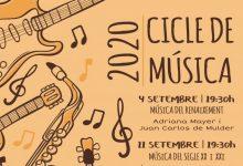 Torna al setembre la cinquena edició del Cicle de Música d'Almàssera amb totes les mesures de seguretat