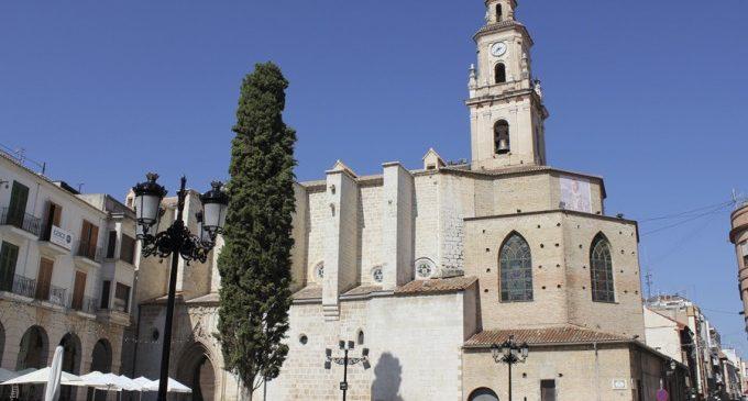 La Diputació recolza a l'ajuntament de Gandia en la seua crida per a restaurar la Col·legiata de Santa María de l'Asunción