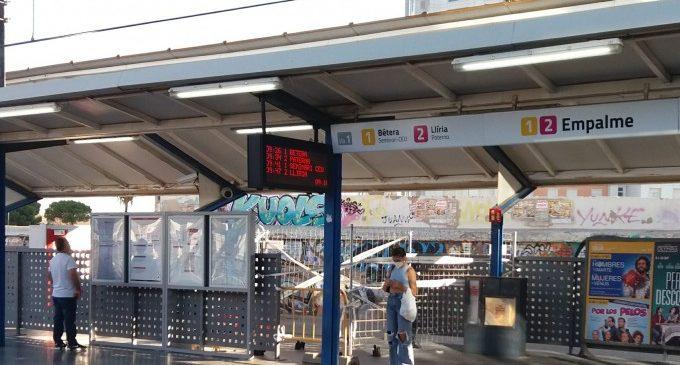 La Generalitat inicia les obres per a completar el control d'accés a l'estació d'Empalme de Metrovalencia