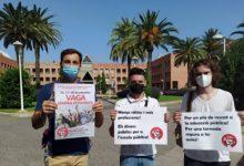 """Estudiants comencen tres dies de vaga i protestes per a exigir una educació """"presencial, de qualitat i segura"""""""