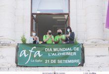 Gandia celebra el Dia Mundial de l'Alzheimer