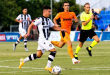 El Levante UD finalitza la seua concentració en La Finca amb un empat davant el Valencia CF (0-0)