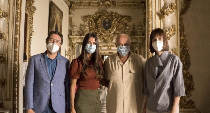 El Palau de Gandia, escenario de la superproducción española de carácter internacional 'Glow and Darkness'
