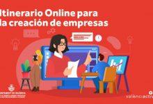 València Activa posa en marxa l'itinerari per a la creació i consolidació d'empreses en format online