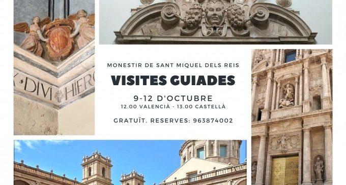 El monestir de Sant Miquel dels Reis obri les portes del 9 al 12 d'octubre amb visites culturals