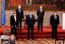 El Palau de la Generalitat acull la signatura del protocol que protegirà el patrimoni de Miquel Navarro a Mislata
