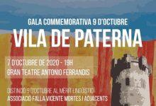 Paterna distingirà amb la Insígnia d'Or de la Vila al Poble de Paterna i a la Falla Vicente Mortes
