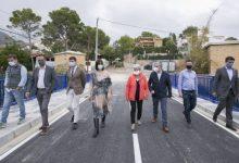 Finalitzen les obres del nou pont d'accés a la urbanització Montepino de Gandia