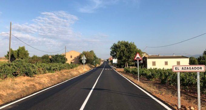 La Diputació millora la seguretat en la Carretera de la Vega de Requena