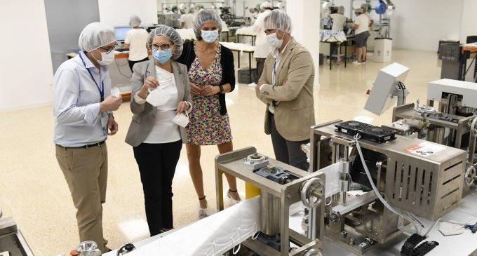 L'empresa paiportina EMO dóna a l'Ajuntament 10.000 mascaretes