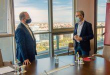 Dalmau y España estrechan la colaboración entre ambas conselleries en materia de vivienda y movilidad