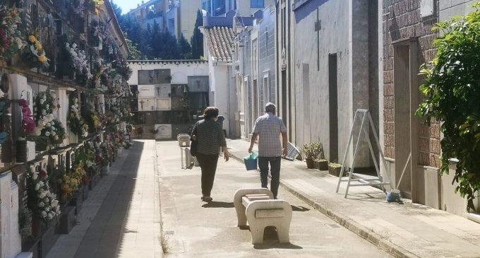 Catarroja anima a la població a avançar les seues visites al cementeri per Tots Sants