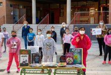 Mislata premia a l'alumnat del CEIP L'Almassil pel seu eslògan per a la Biblioteca Central