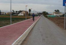 Acabadas las obras del carril bici de Almàssera