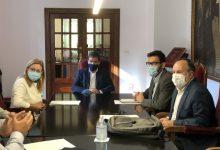 L'alcalde de Xàtiva i el Director General de Transparència aborden la renovació del conveni per a la prestació del servei del Prop
