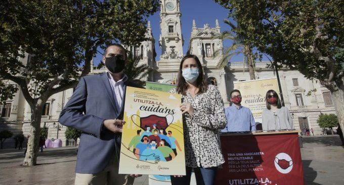 Se repartirán mascarillas reutilizables en los barrios de València con menor renta