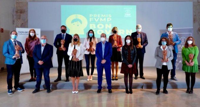 """La FVMP reconeix les polítiques mediambientals de Gandia als III Premis al """"Bon Govern"""""""