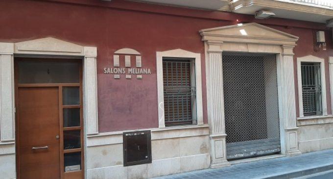 L'Ajuntament de Meliana ha adquirit l'immoble dels antics Salons Meliana  amb més de 300.000 euros d'inversió