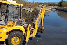 Operatiu de neteja a Llíria per a preparar la temporada de pluges de tardor