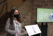 """Oltra: """"El Botànic vol reconéixer a qui s'està deixant la pell en la lluita contra la COVID i ajudar a qui la pandèmia ha deixat sense recursos"""""""