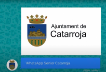Catarroja llança un programa de formació per a persones majors a través de Whatsapp