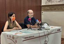 Servicios Sociales presenta la memoria económica de la actuación Som Alzira