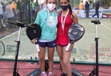 La jove paiportina Alba Galán, campiona autonòmica de pàdel per sisena vegada