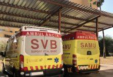 Un jove de 25 anys resulta ferit després de patir un accident de cotxe a Sueca
