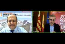 Arcadi España advoca per unir forces entre l'Administració i el sector privat per a fer front a la crisi provocada per la pandèmia