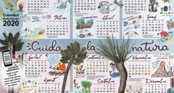 """El área de Medio Ambiente convoca la séptima edición del """"Calendari Ambiental Escolar 2021"""""""
