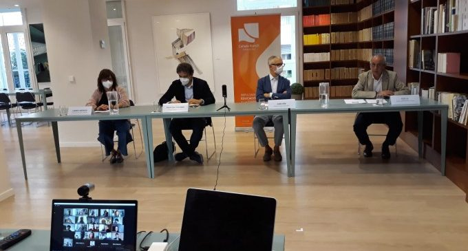 Francesc Colomer i Carmen Amoraga inauguren la XIX edició del curs de Turisme Cultural de la Fundació Cañada Blanch