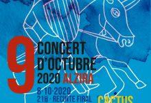 Cactus substitueix Pupil·les al cartell del Concert del 8 d'octubre d'Alzira