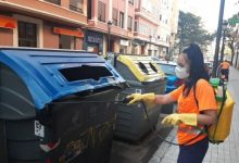 La desinfecció a Ciutat Vella, Campanar i Pobles del Sud es reforça per la incidència de la Covid-19 detectada a les aigües residuals