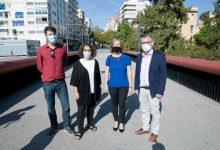 La Diputación se interesa por el modelo urbano sostenible de Gandia