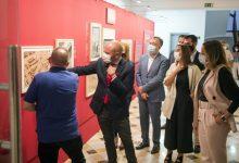 La Diputació expone la historia del 9 d'Octubre con una reproducción de la obra maestra del gótico valenciano