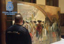 La Policia recupera a Brussel·les un quadre de  Sorolla i deté a un condemnat en el 'cas Malaya'