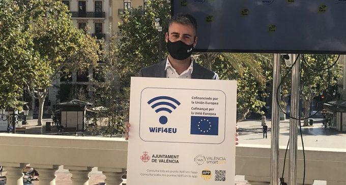 València estrena esta semana 74 nuevos puntos de wifi gratuita a alta velocidad