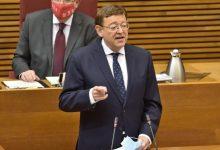Puig anuncia que el Consell contará con un 4,1% más de financiación en 2021, hasta 13.800 millones de euros