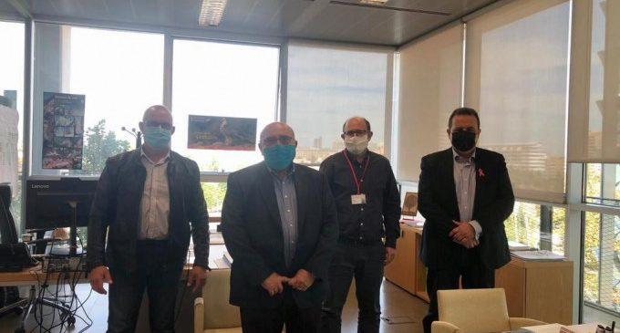 Els alcaldes de Sueca, El Perelló i Mareny de Barraquetes es reuneixen amb el director general del Medi Natural