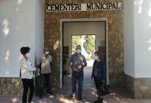 El Cementerio Municipal de Almussafes, preparado para una fiesta de Todos los Santos extraordinaria