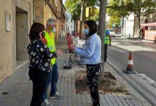 """Ontinyent millora els escocells i les voreres del carrer Tirador gràcies al pla """"Tornem Junts"""""""