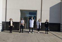 L'empresa Distribuciones JuanLunarep la visita de l'alcalde d'Almussafes