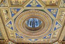 La Diputació restaura la vidriera de la cúpula de la Sala Alfons el Magnànim