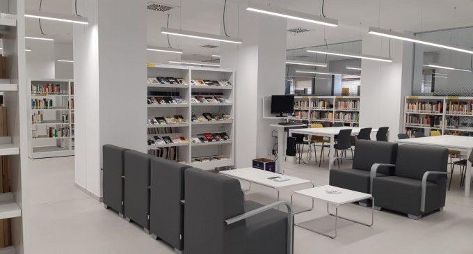 La biblioteca municipal de Benimaclet ha reobert després de les obres d'ampliació i modernització