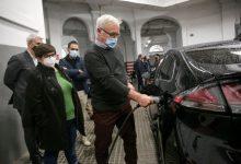 El parque mòbil de València es renova amb vehicles elèctrics per reduir les emissions d'efecte hivernacle