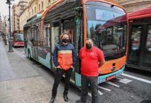 EMT prova un nou autobús 100 % elèctric per analitzar la seua operativitat