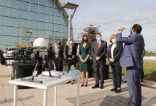 Ximo Puig destaca que la Comunitat Valenciana es troba a l'avantguarda en el transport de material sanitari amb drons
